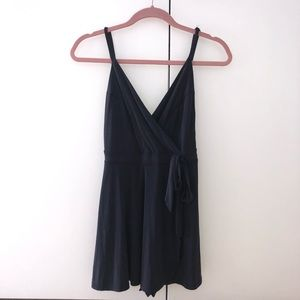 Urban Outfitters Pants - UO: KIMCHI BLUE VERUCA SKORTED WRAP ROMPER